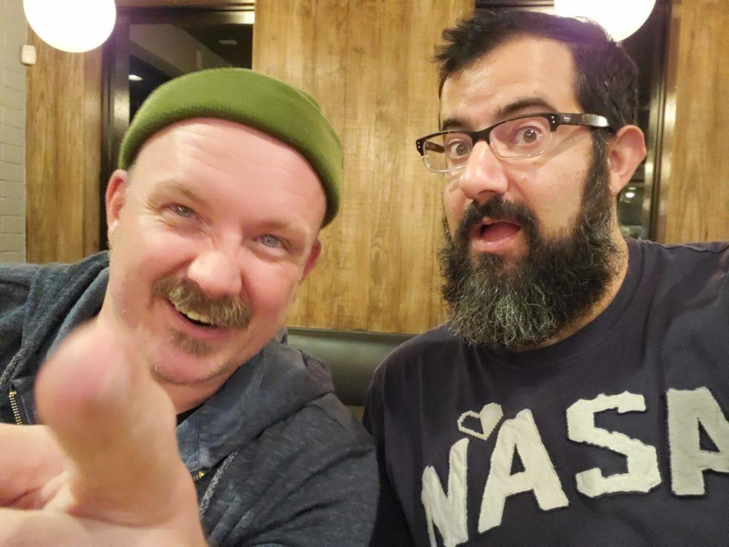 Neil Arthur James and Nick Georgoudiou